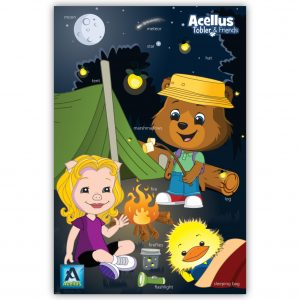 Tobler & Friends Poster - Camping