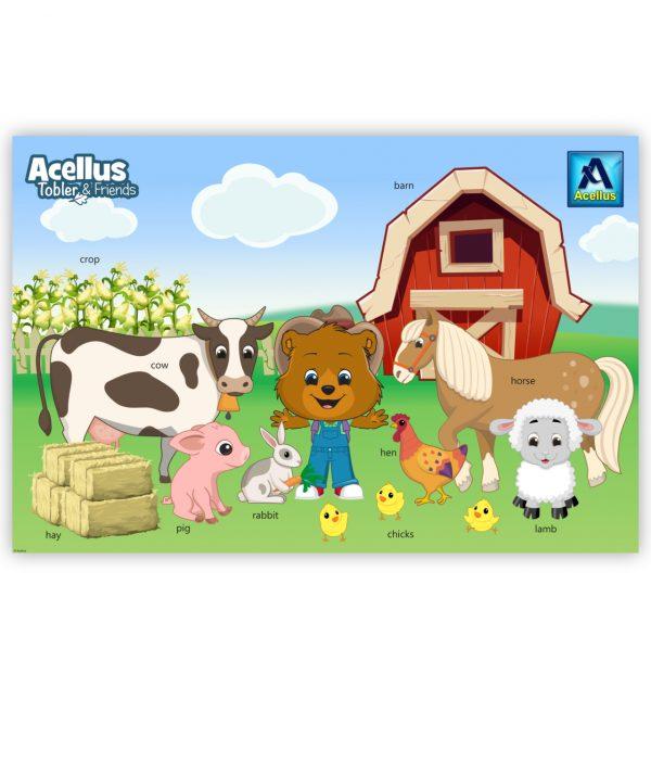 Tobler & Friends Poster - Farm