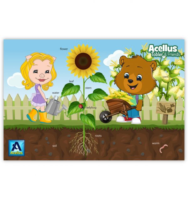 Tobler & Friends Poster - Garden