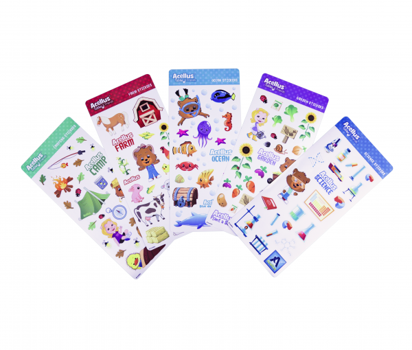 Tobler and Friends Sticker Sheets