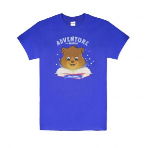 T Shirt -- Royal Blue Tobler Reading