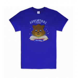 T-Shirt - Royal Blue Tobler Reading