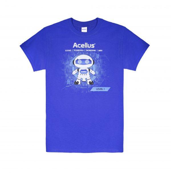 T-Shirt -- Royal STEM 1