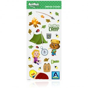 Acellus Tobler Camping Stickers
