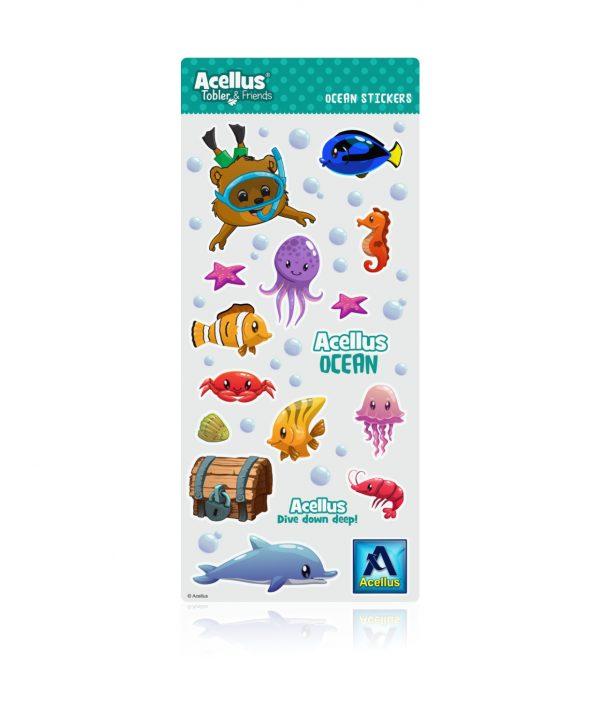 Acellus Tobler Ocean Stickers