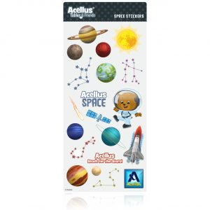 Acellus Tobler Space Stickers