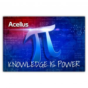 Acellus Math Poster - Knowledge is Power