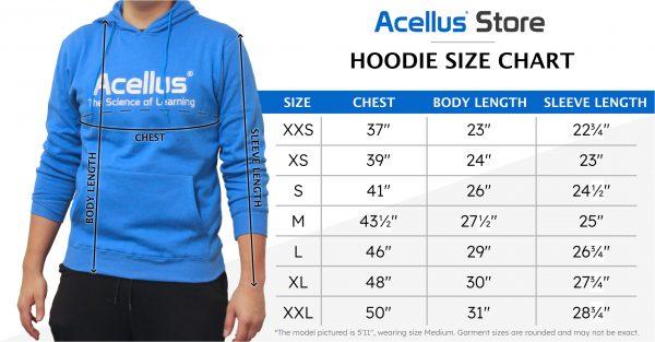 Hoodie Size Chart