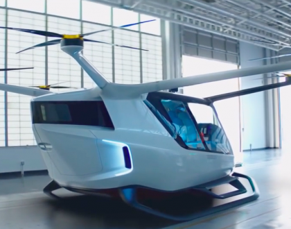New Passenger Drone Powered by Hydrogen Fuel Cells