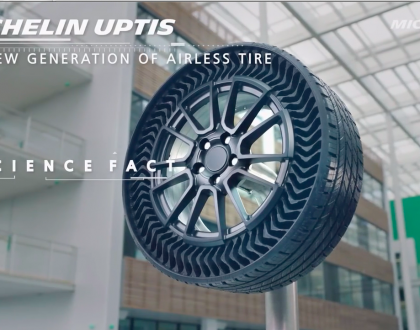 Safe, Smooth, Durable — New Airless Tires